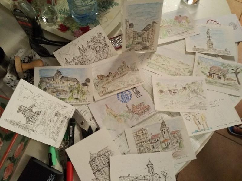 Les cartes d'Alain